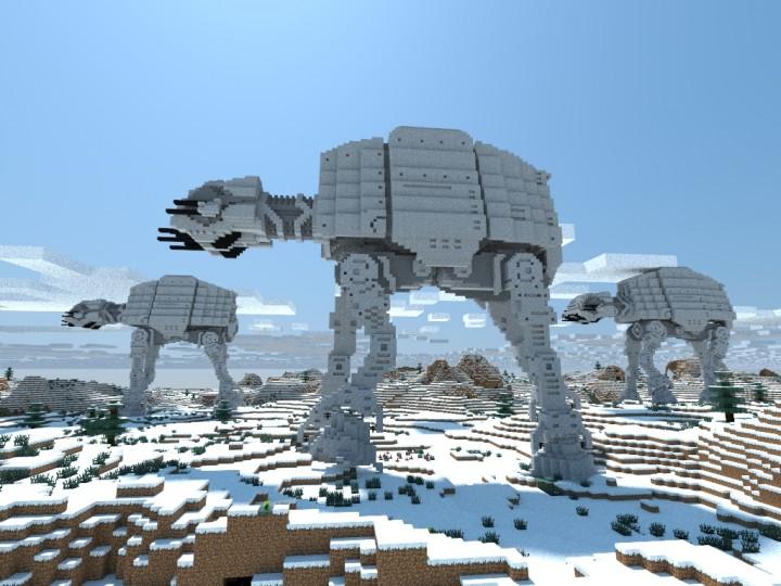 At At Walker Star Wars Minecraft Project