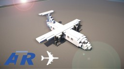 Atr 72-500 || Light Blue Minecraft Project