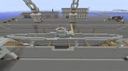 Type VIIC U-boat Minecraft Project