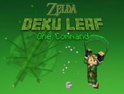 [1.9 Snapshots] Zelda Deku Leaf Gliders - One Command - Craftable Fans and Deku Leaves! Minecraft Map & Project