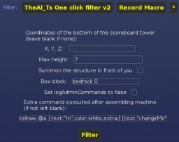 One-click MCEdit filter that uses /summon instead of /setblock (1.8)