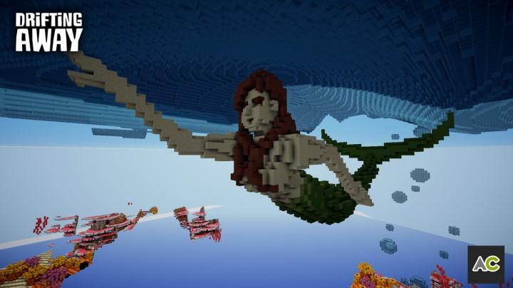 The mermaid, Leena