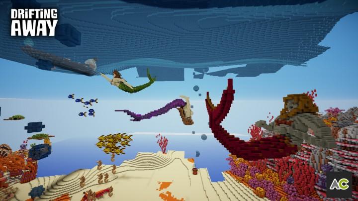 All three mermaids