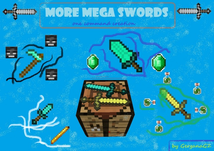One Command Creation] More Mega Swords by GerganaGZ - Over