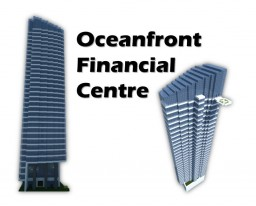 Oceanfront Financial Centre Minecraft Project