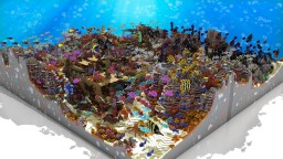 'Calamity on the reef' - Underwater Wonderland Contest entry Minecraft