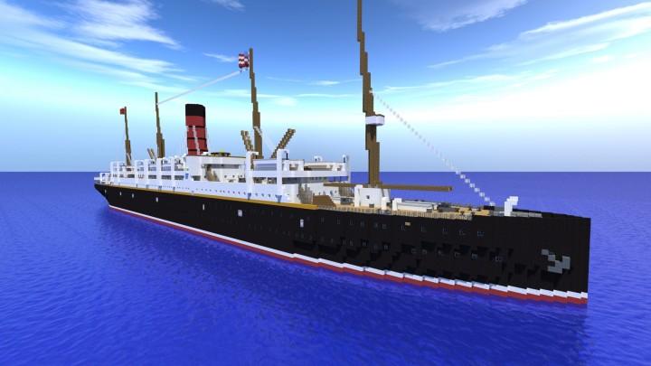 Titanic Rescue Ship RMS Carpathia Minecraft Project : rendermap3 3529219954 from www.planetminecraft.com size 720 x 405 jpeg 59kB