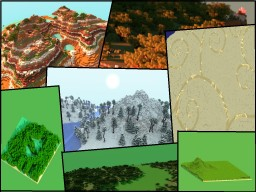 Custom Terrain Map - 69 Minecraft