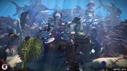 Under The Tea [Underwater Wonderland Contest]