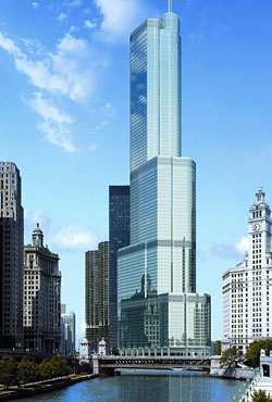 Trump Tower Chicago Wip Minecraft Project