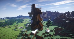 Little windmill on the hill Minecraft Map & Project