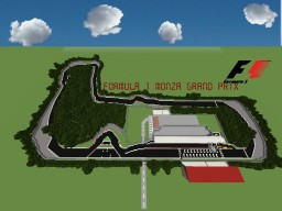 F1 Monza Grand Prix (Italian Grand Prix) Minecraft Project