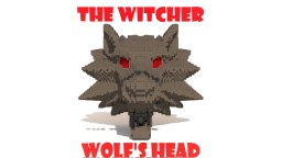 Minecraft Timelapse - The Witcher: Wolf's Head