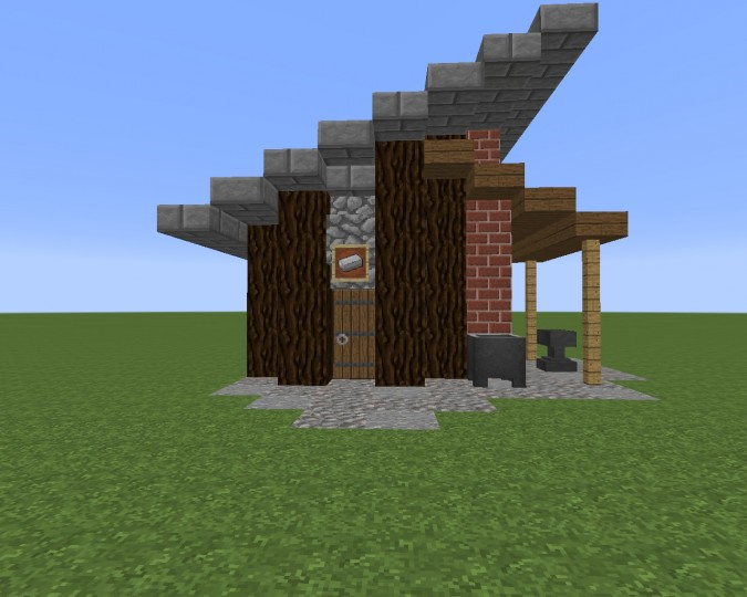 Village Blacksmith 2 0 Minecraft Project