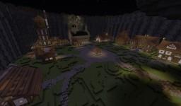 Secret Waterfall City Minecraft Map & Project