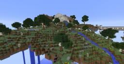 Isla Flotante Minecraft Map & Project