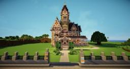 Victorian Queen Anne Style - Carson Mansion Minecraft