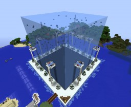 Achievement Hunter Games - Ice Cube & Mega Tower Minecraft Map & Project