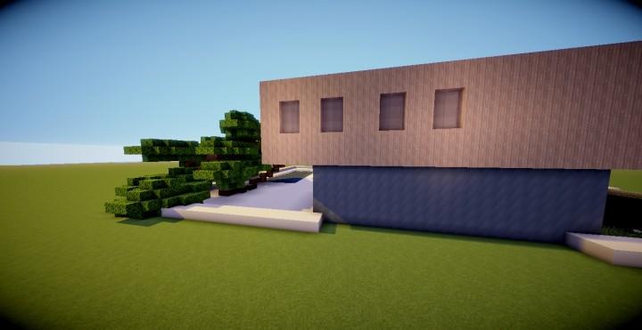 Maison Moderne 2 Minecraft Project