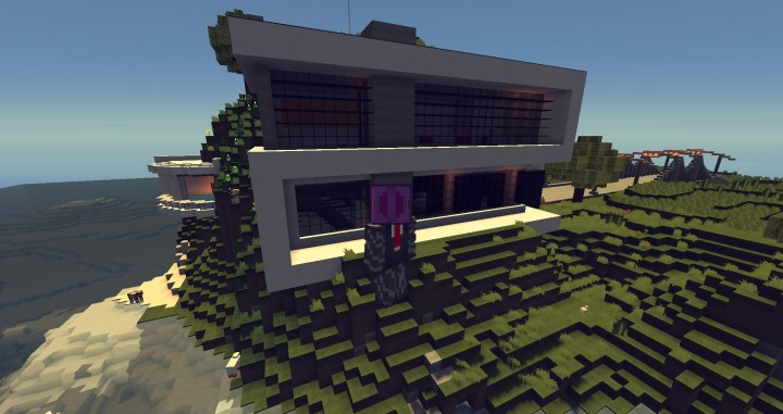 Modern house 1 mi casa es tu casa minecraft project for Tu casa es mi casa