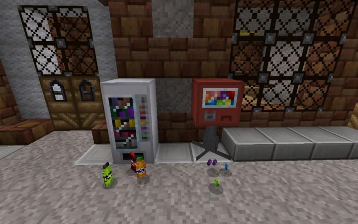 [Mod][1.7.10] Vending Machines Revamped - Этот мод вытянет из вас все изумруды!