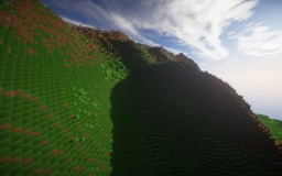 A Big Mountain Minecraft Project