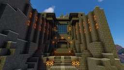 Herobrines Castle Minecraft Map & Project