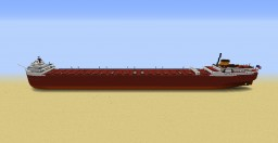 SS Edmund Fitzgerald - Bulk Carrier | 1:1 Scale Minecraft Map & Project
