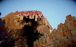 Mountainous land Minecraft Project