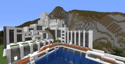 Patato Modern Villa Minecraft Map & Project