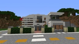 ultra modern house Minecraft Map & Project