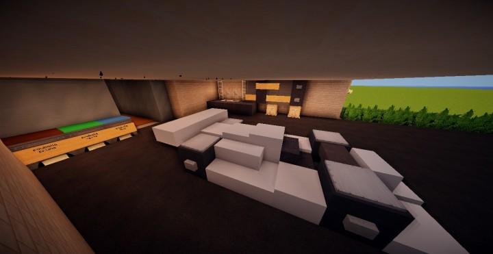 Maison moderne 1 minecraft project for Maison moderne 06