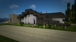 Small Modern Home Minecraft Map & Project