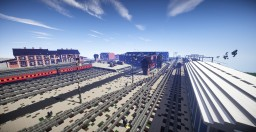 Rail Yard Minecraft Project