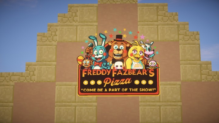 Five Nights At Freddy S 2 Freddy Fazbear S Pizza Minecraft Project