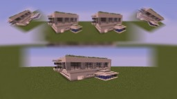 Furnish this house Minecraft
