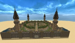 Walled Oasis Minecraft Map & Project
