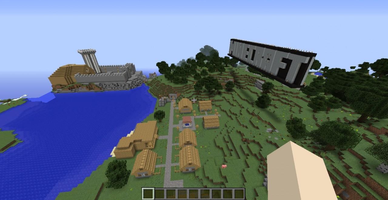 Minecraft xbox tu2 tutorial world minecraft project for Mine craft for xbox