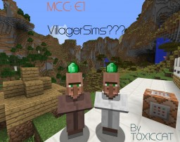 MCC (Minecraft Cool Contraptions) E1 VILLAGERSIMS?? Minecraft Blog