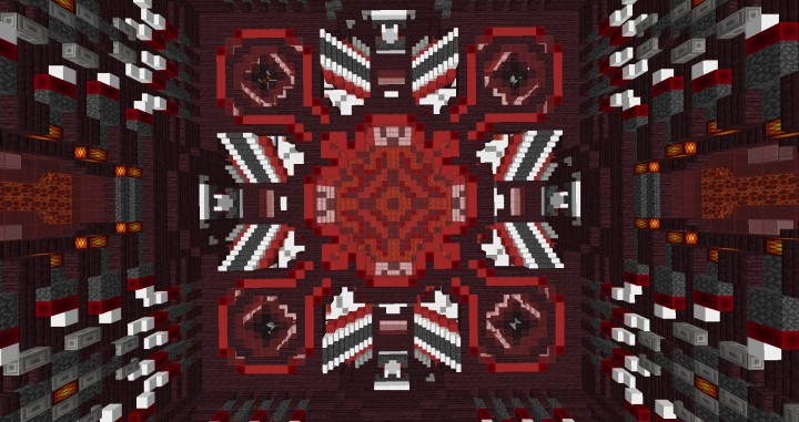 Factions Nether Base Design Minecraft Project