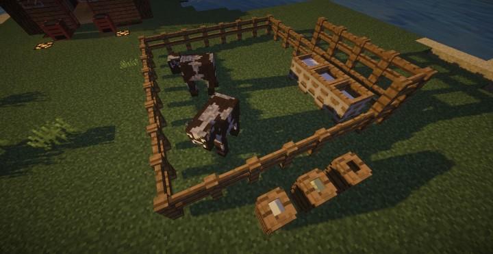 Milk barrels and butter churns