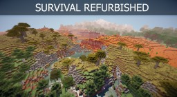 Survival Refurbished Minecraft Project