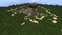 Creative Server Spawn Minecraft Map & Project