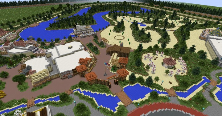 Images of Minecraft Disney Map - #rock-cafe on