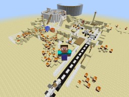 Ghost City Minecraft Map & Project