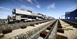 UP Challenger Grayhound (Steam Train) Minecraft Map & Project