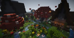 My Survival Town: SilverMist (Fairy & Medieval Town) Minecraft Map & Project