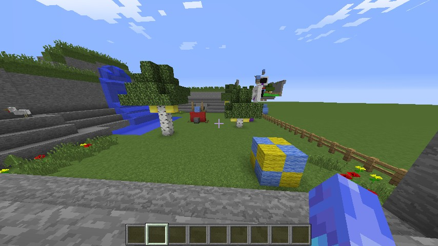 Sonic Adventure 2 Chao Garden Minecraft Project
