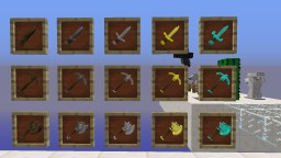Spark's Tools Pack 3D Minecraft Texture Pack