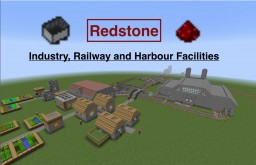 Redstone Industry, Railway and Harbour Facilities Minecraft Map & Project